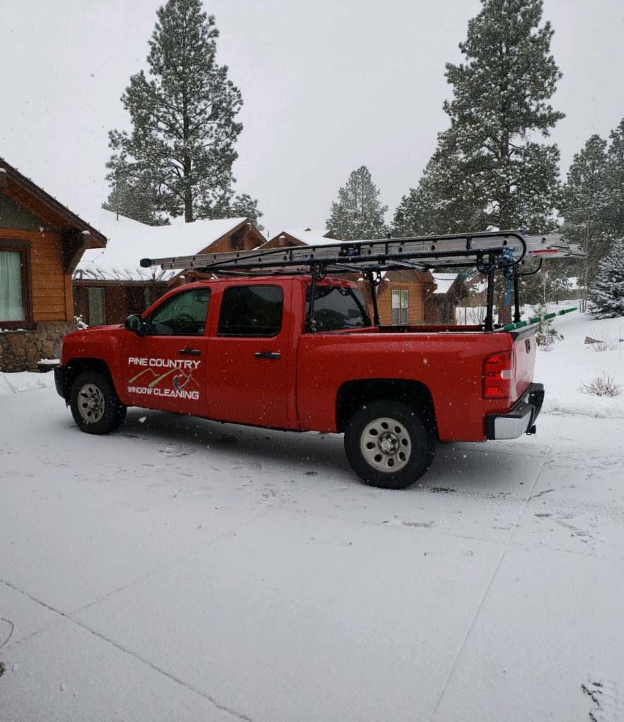 Pine Country Window Cleaning Truck