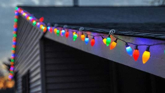 Residential Christmas Light Installation in Flagstaff AZ